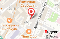 Схема проезда до компании Компания Пересвет в Москве