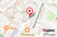 Схема проезда до компании Джи Ти Групп в Москве