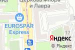 Схема проезда до компании Юлмарт Аутпост в Москве