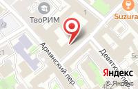 Схема проезда до компании Строй Сити в Москве
