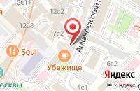 Схема проезда до компании Промаудит в Москве