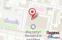 Схема проезда до компании Центр Профессиональной Реабилитации Слепых  в Москве