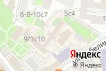 Схема проезда до компании Магна в Москве
