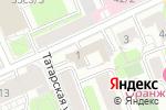 Схема проезда до компании ЮСТ Групп в Москве