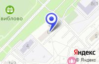 Схема проезда до компании АНО АВТОШКОЛА ПАРИТЕТ в Москве