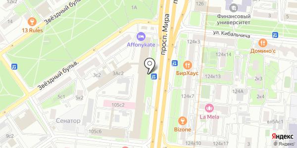 Intensity. Схема проезда в Москве