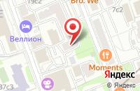 Схема проезда до компании Нола в Москве