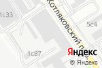 Схема проезда до компании Mir-avtokresel.ru в Москве