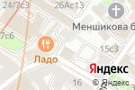 Схема проезда до компании Смерч в Москве