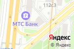 Схема проезда до компании Парикмахерская №77 в Москве