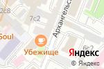 Схема проезда до компании ДантистЪ в Москве