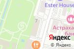 Схема проезда до компании Инженерная служба Мещанского района в Москве