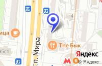 Схема проезда до компании ТЕХМАРКЕТ-ТРЕЙД в Москве
