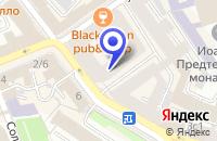 Схема проезда до компании САЛОН МЕБЕЛИ TENDENZA в Москве