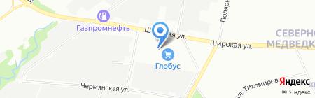 ГЕПАРТ на карте Москвы