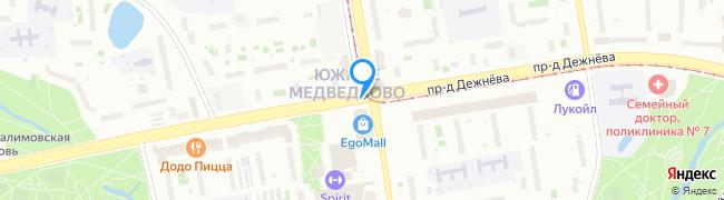 проезд Дежнёва