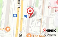 Схема проезда до компании Арондо в Москве