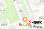Схема проезда до компании На Татарской в Москве