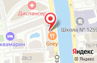 Схема проезда до компании Вест в Москве