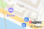 Схема проезда до компании M & M travel в Москве