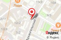 Схема проезда до компании Группа предприятий безопасности  в Москве