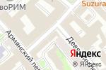 Схема проезда до компании Advanced communications and media в Москве