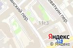 Схема проезда до компании moda495 в Москве
