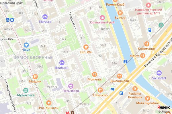 Ремонт телевизоров Улица Татарская на яндекс карте