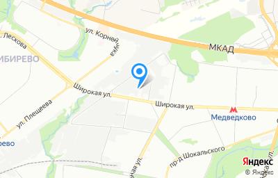 Местоположение на карте пункта техосмотра по адресу г Москва, ул Полярная, д 31Б стр 1