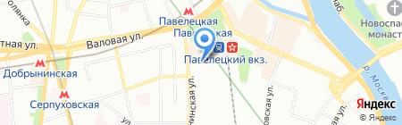 RDM Service на карте Москвы