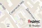 Схема проезда до компании Божий мир в Москве