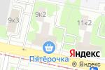 Схема проезда до компании Клевер Бизнес в Москве