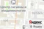 Схема проезда до компании Евразийская консультационно-юридическая группа в Москве