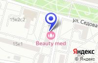 Схема проезда до компании ТФ ДУСЛАР в Москве