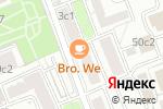 Схема проезда до компании Цветочная лавка в Москве