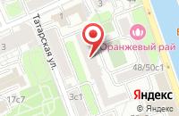Схема проезда до компании Графити-О Дизайн в Москве