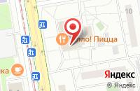 Схема проезда до компании Дельта в Москве