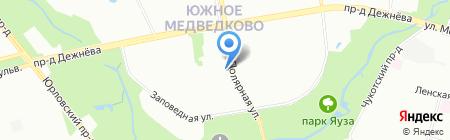 Металл-СК на карте Москвы
