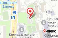 Схема проезда до компании Прогресс-Т в Москве