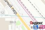 Схема проезда до компании Ржевская в Москве