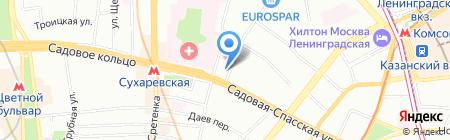 Егер и партнеры на карте Москвы