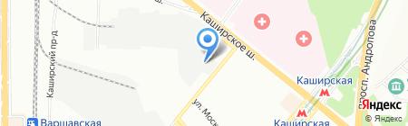 МИККОМ-ИСБ на карте Москвы