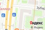 Схема проезда до компании МАРКВЕТ в Москве