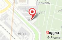 Схема проезда до компании Техинвестпроект в Москве