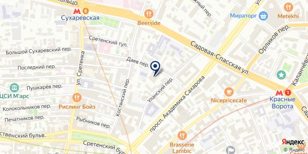 ТФ АНДОР на карте Москве