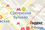 Схема проезда до компании Авалон Картина в Москве
