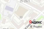 Схема проезда до компании Legal Intelligence Group в Москве