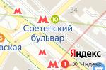 Схема проезда до компании ЭнергоВатт в Москве