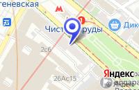 Схема проезда до компании КОНСАЛТИНГОВАЯ КОМПАНИЯ ФЛИНТ в Москве