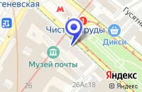 Схема проезда до компании ОО АВТОСЕРВИСНОЕ ПРЕДПРИЯТИЕ АРСЕНАЛ-МОТОР в Москве